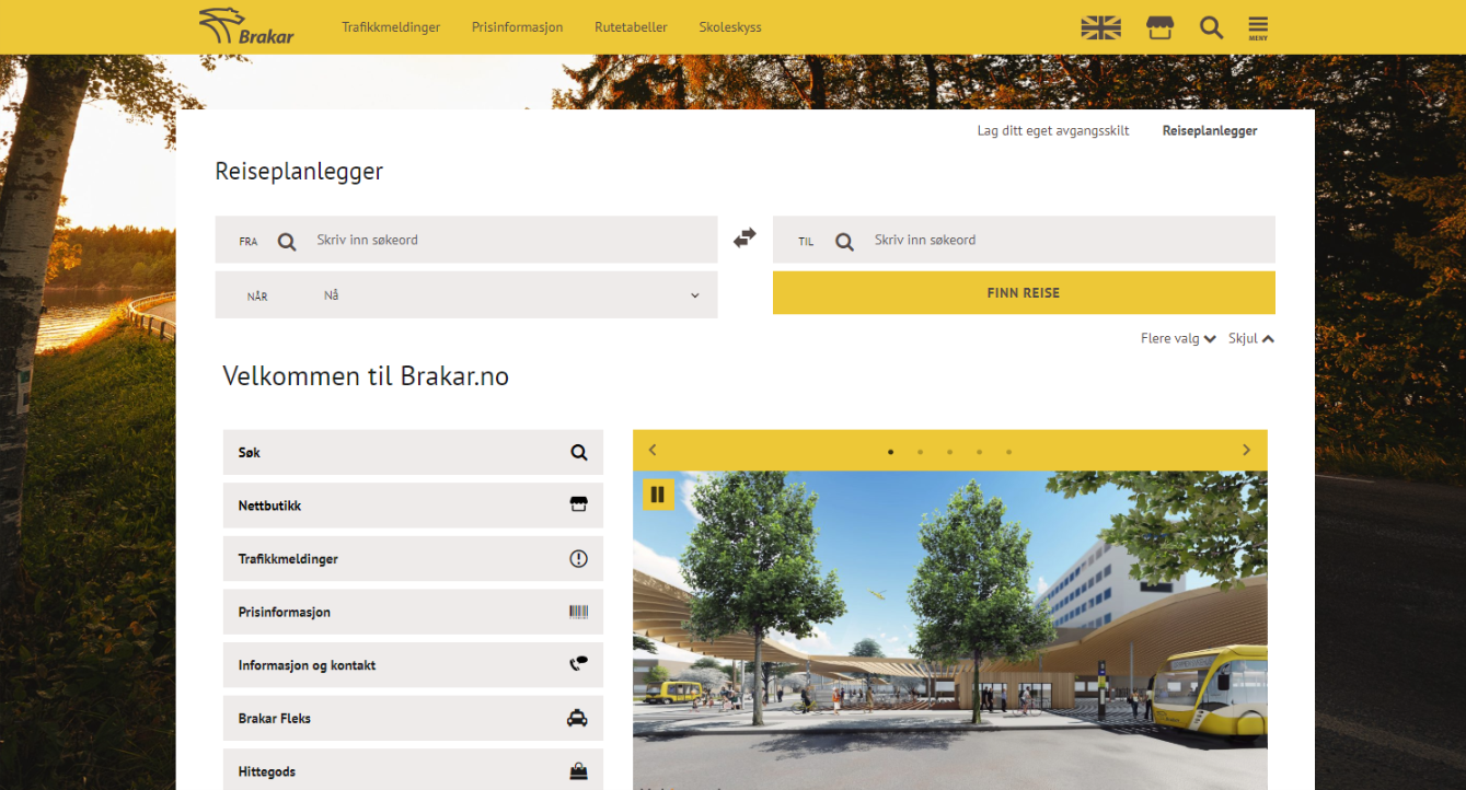 Release of new webpage and CMS for Brakar AS