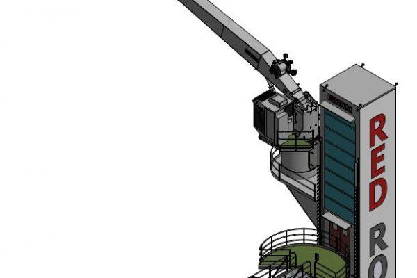 gangvei taarn og 3D kran (fra pdf)