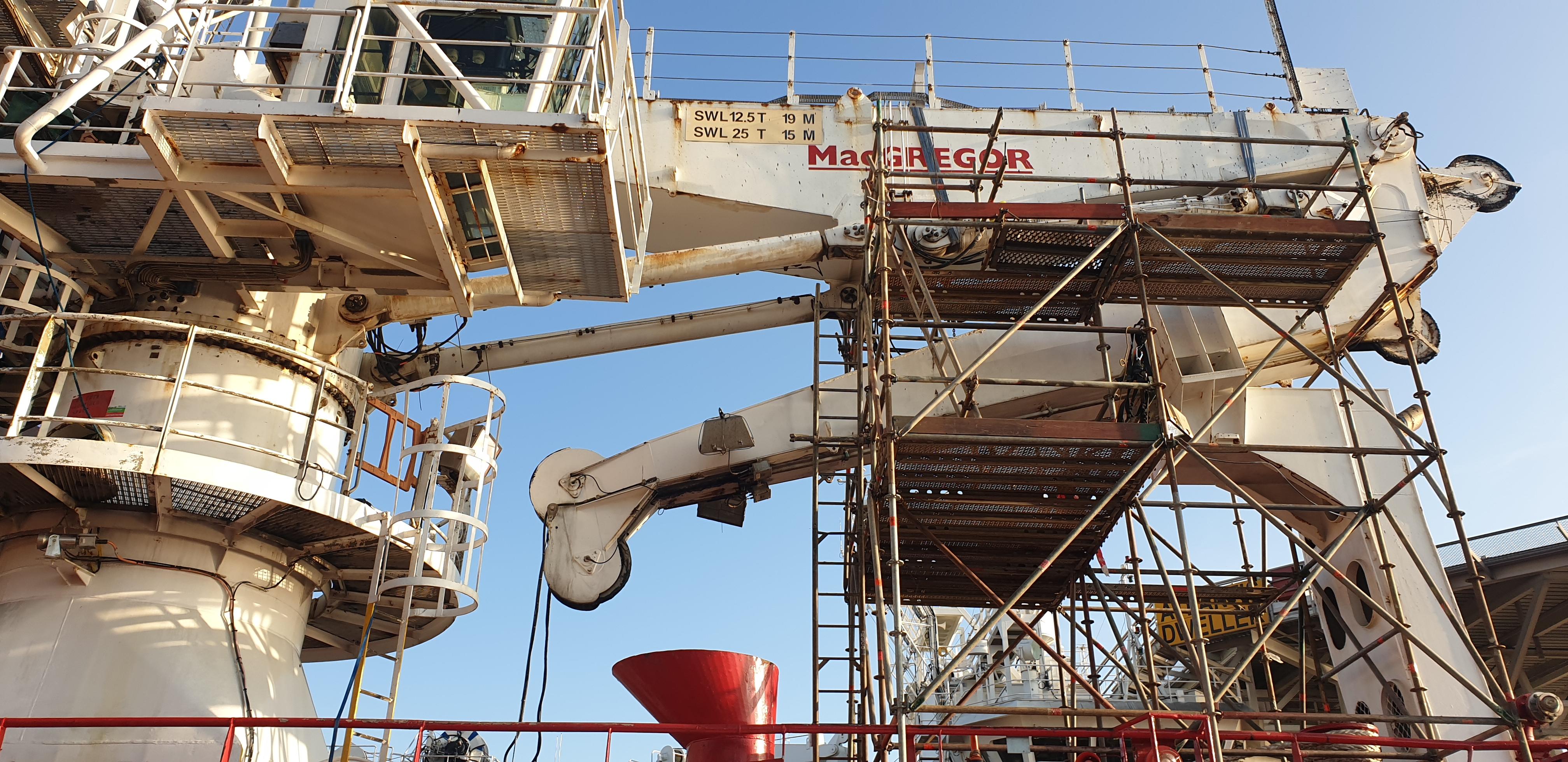 AHC Crane Overhaul