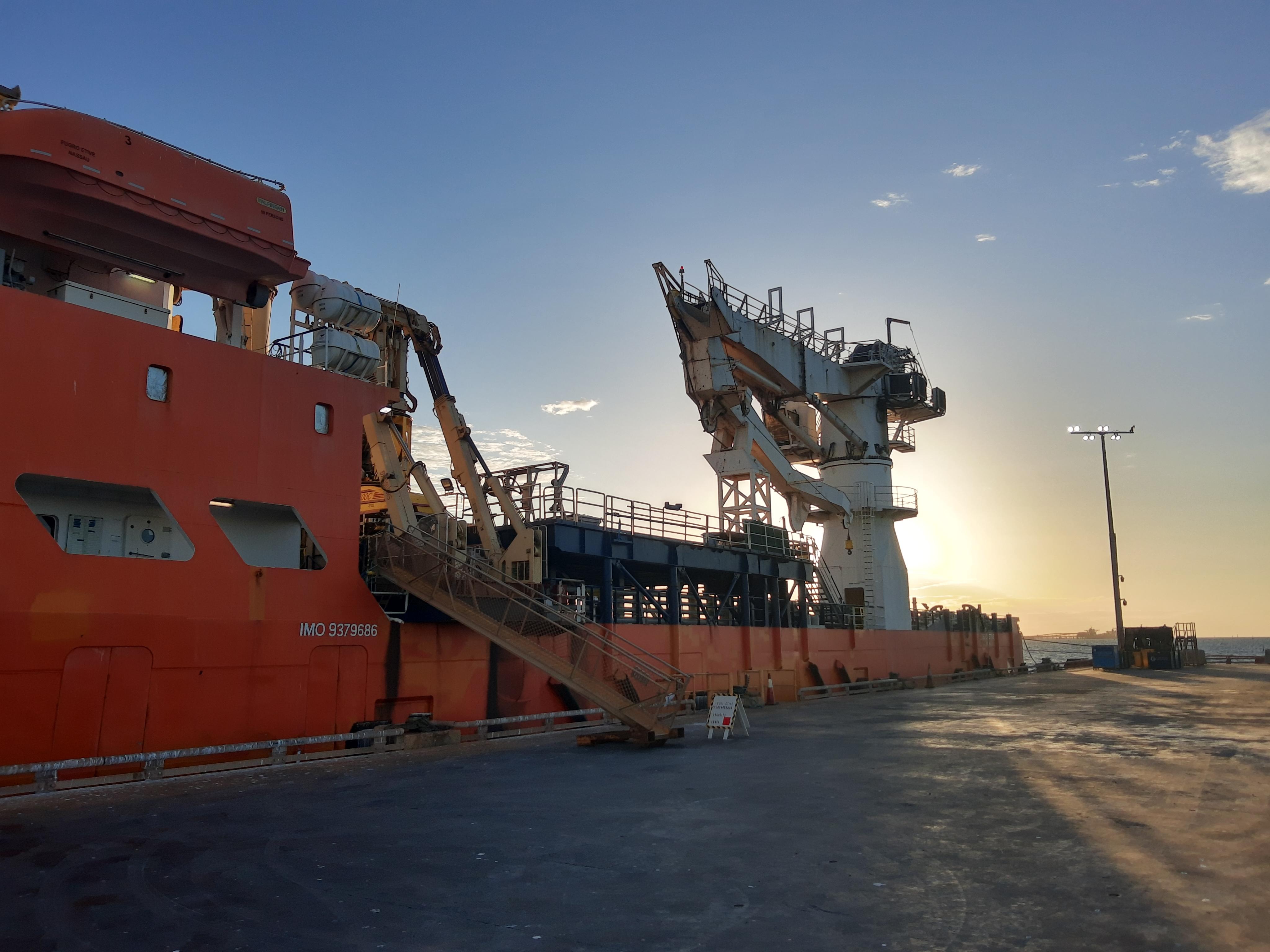 Overhaul and tuning of AHC Subsea Crane