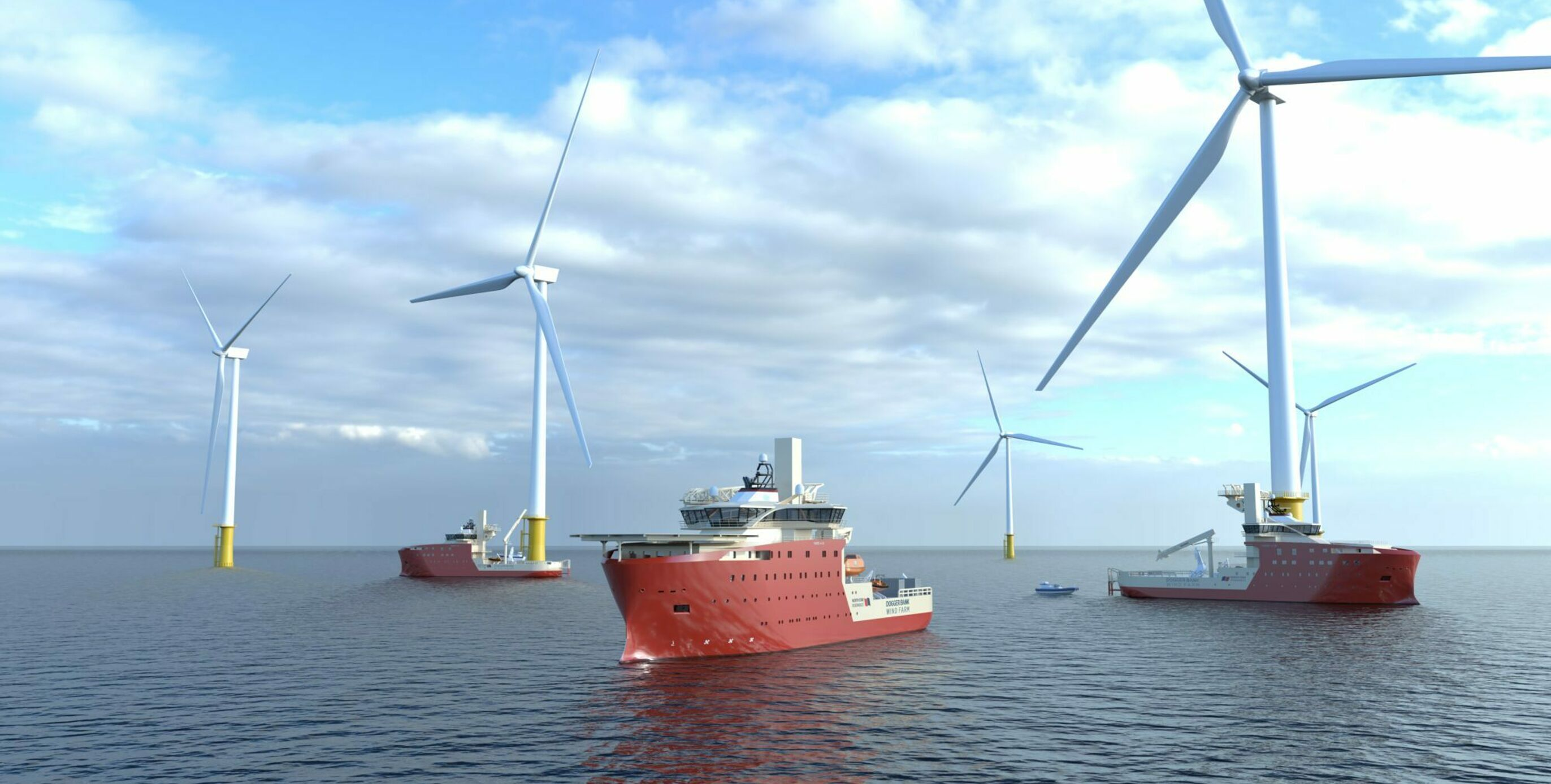 Red Rock wins crane contract for Dogger Bank SOVs