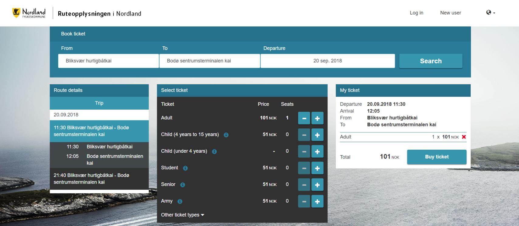Release of new webshop for Nordland Fylkeskommune