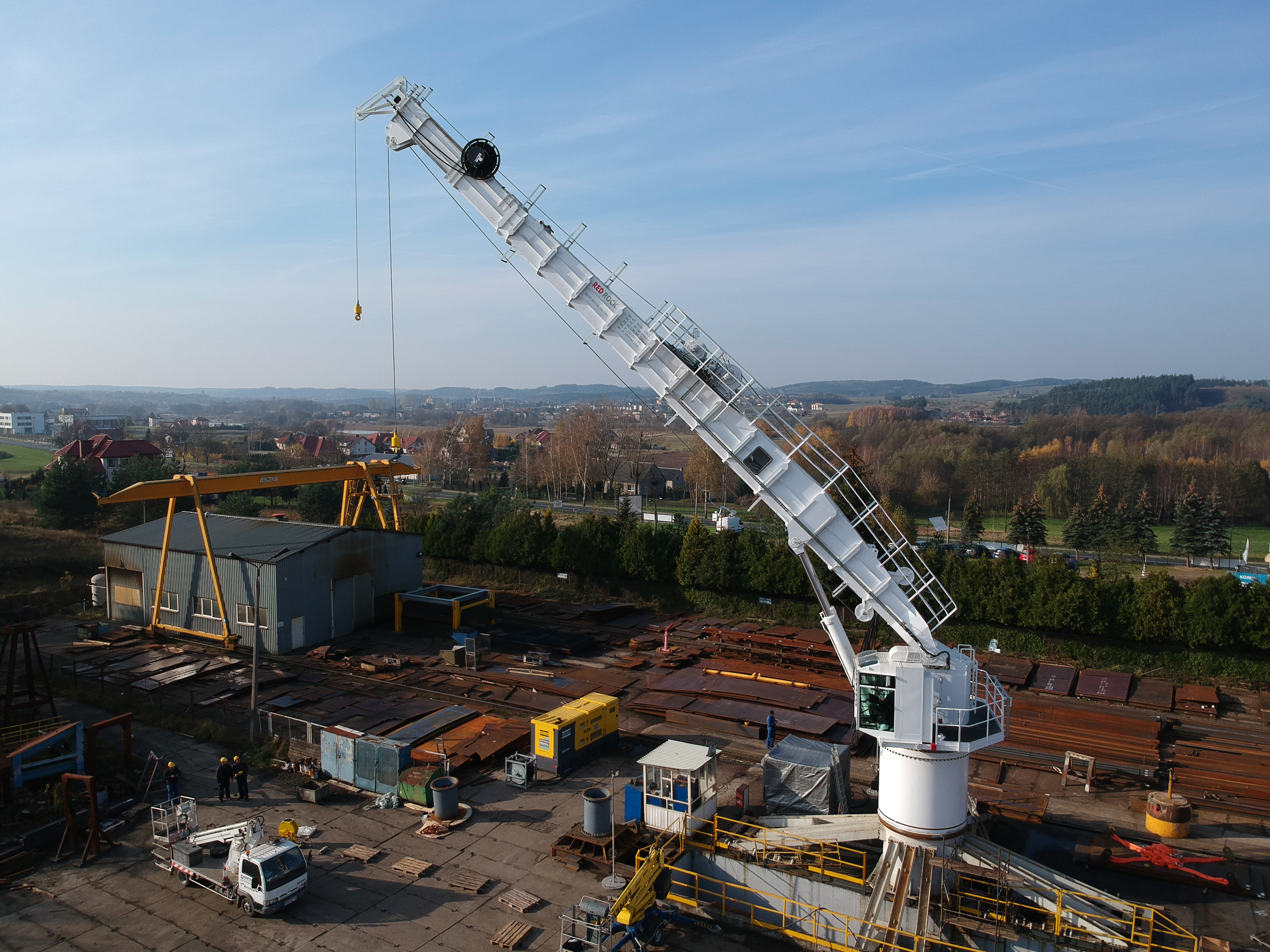 Red Rock 40T Active Heave Compensated Crane – In Stock