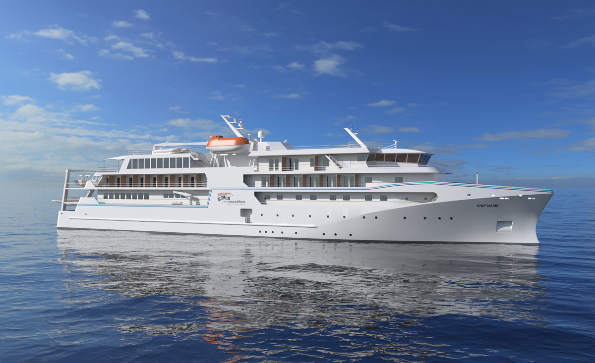New contract for cranes for expedition cruise vessel